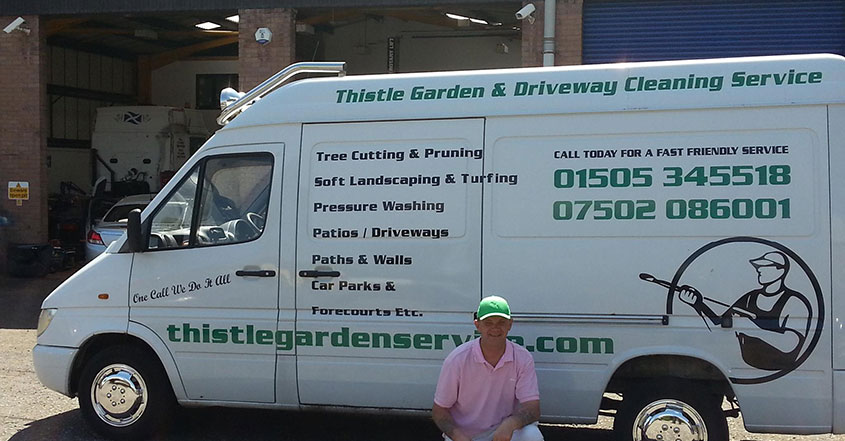 Thistle Garden Services Scotland Jet Washing & Patio Cleaning